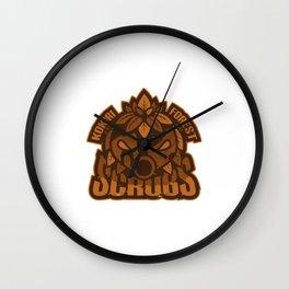 Kokiri Forest Scrubs Wall Clock