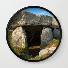Le Trepied Dolmen Wall Clock