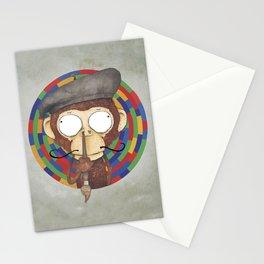 Monkey Artist Stationery Cards