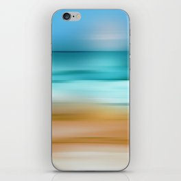 Abstract Seascape 2 iPhone Skin
