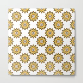 Polka Dot Flower From Another World Metal Print