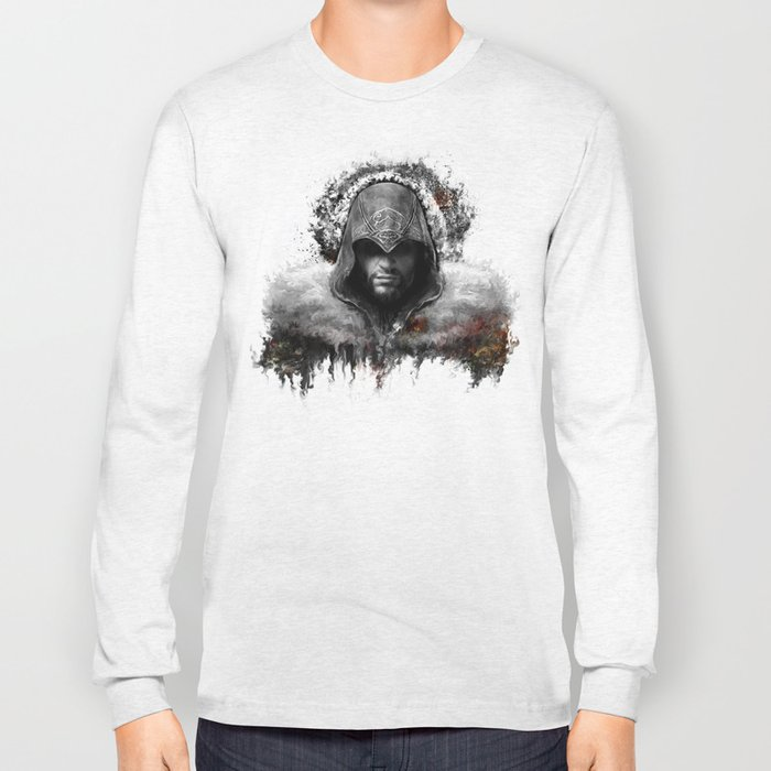 assassins creed ezio auditore Long Sleeve T-shirt
