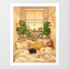 Cozy Space Art Print