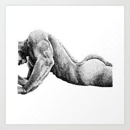 Paolo - 3 - Nooddood Art Print