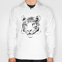 mike wrobel Hoodies featuring Mike Tyger by chance horseribs higgins