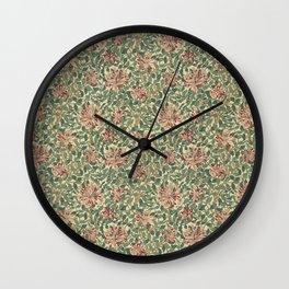 "William Morris ""Honeysuckle"" 1. Wall Clock"