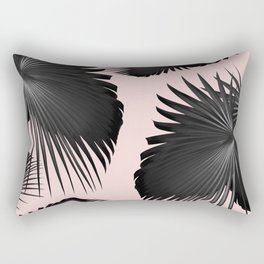 Fan Palm Leaves Paradise #2 #tropical #decor #art #society6 Rectangular Pillow