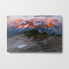 Copper Ridge Sunset Metal Print