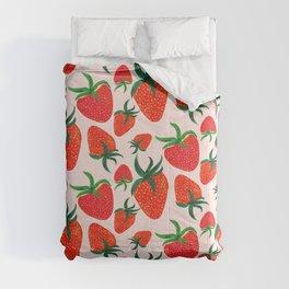 Strawberry Harvest Comforters