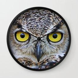 I'm watching you Wall Clock