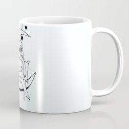 Girl on the Moon Coffee Mug