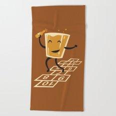 Hop-Scotch Beach Towel
