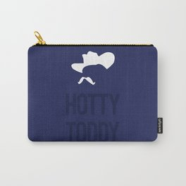 Colonel Silhouette (navy blue) Carry-All Pouch