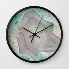 MINTY MINERAL Wall Clock