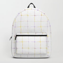 dots and lines Backpack