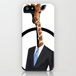 Jirafa iPhone Case