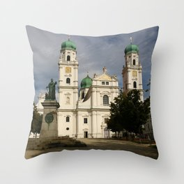 St. Stephen's Cathedral Passau Throw Pillow