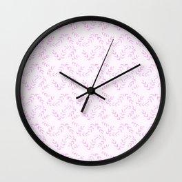 Nature Rose Tones Wall Clock