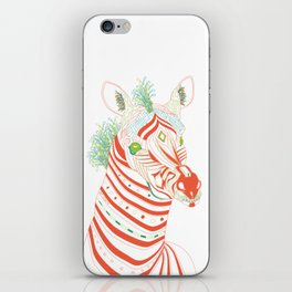 Robot Zebra iPhone Skin