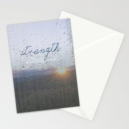 Unveiling Beauty - Strength Stationery Cards