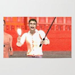 SquaReD: Opposition Rug