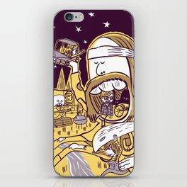 Giant Hippy iPhone Skin