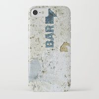 bar iPhone & iPod Cases featuring BAR by ollily