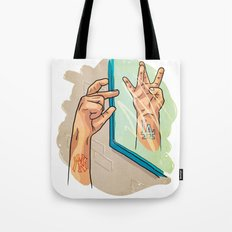 from NY to LA Tote Bag