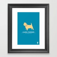 Cairn Terrier Framed Art Print