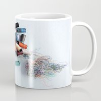 tangled Mugs featuring Tangled by myhideaway