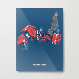 Transformers - Optimus Prime Metal Print