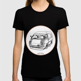 Crazy Car Art 0100 T-shirt