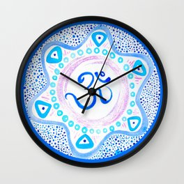 Ohm Peace Within Wall Clock