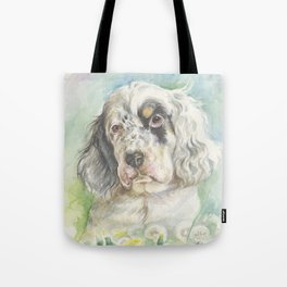 ENGLISH SETTER PUPPY Tote Bag