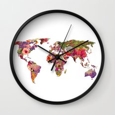It's Your World Wall Clock