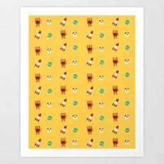 ChuChu Rocketto Art Print