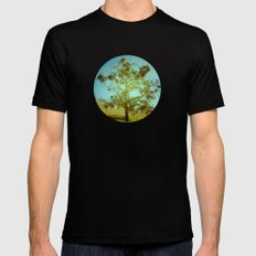 Solo MEDIUM Mens Fitted Tee Black