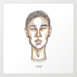 B L M Art Print