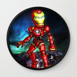 Iron Man Cartoon Wall Clock