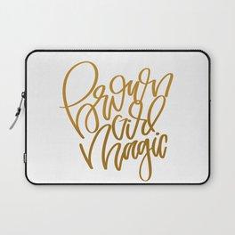 UrbanNesian Brown Girl Magic Laptop Sleeve