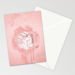 Boxed Mime (Red) Stationery Cards