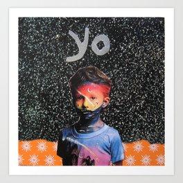 yo Art Print