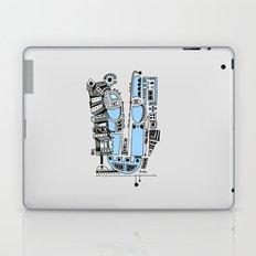 Sad robot Laptop & iPad Skin
