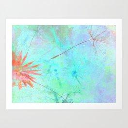 Paint A Dandelion Art Print