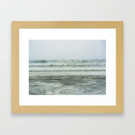 The Storm Inside You Framed Art Print