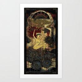 Paul Chatem_ Justice Set Adrift Art Print