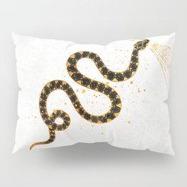 Dark Snake Inktober :: Sleep Copiously Pillow Sham