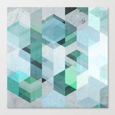 Nordic Combination 22 Canvas Print
