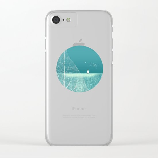 Ocean Wonderland II Clear iPhone Case