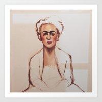 Raw Flawless Frida Art Print